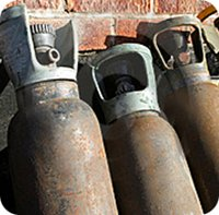 Let Concorde help you dispose of your used SF6 gas cylinders, regardless of their condition.