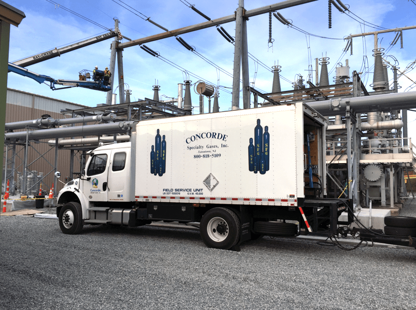 Concorde Specialty Gases contracted by National Grid