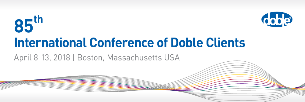 2018 Doble Conference